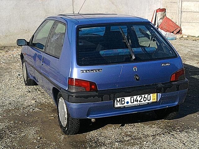 Peugeot 106 euro 2 an 1995 45cp de vanzare