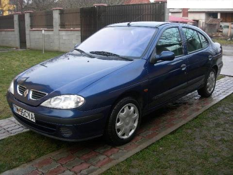 Renault megane expression 1,6L 107 cp an 2002