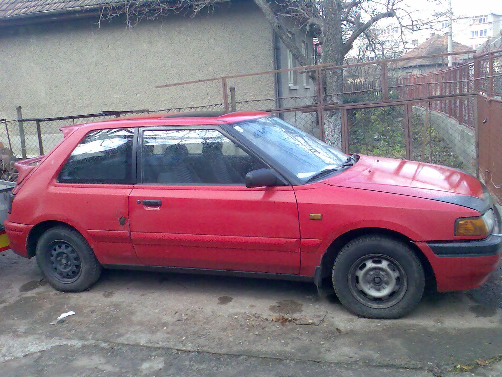 Vind mazda 323 2 usi motor 1,7 diesel an 1994