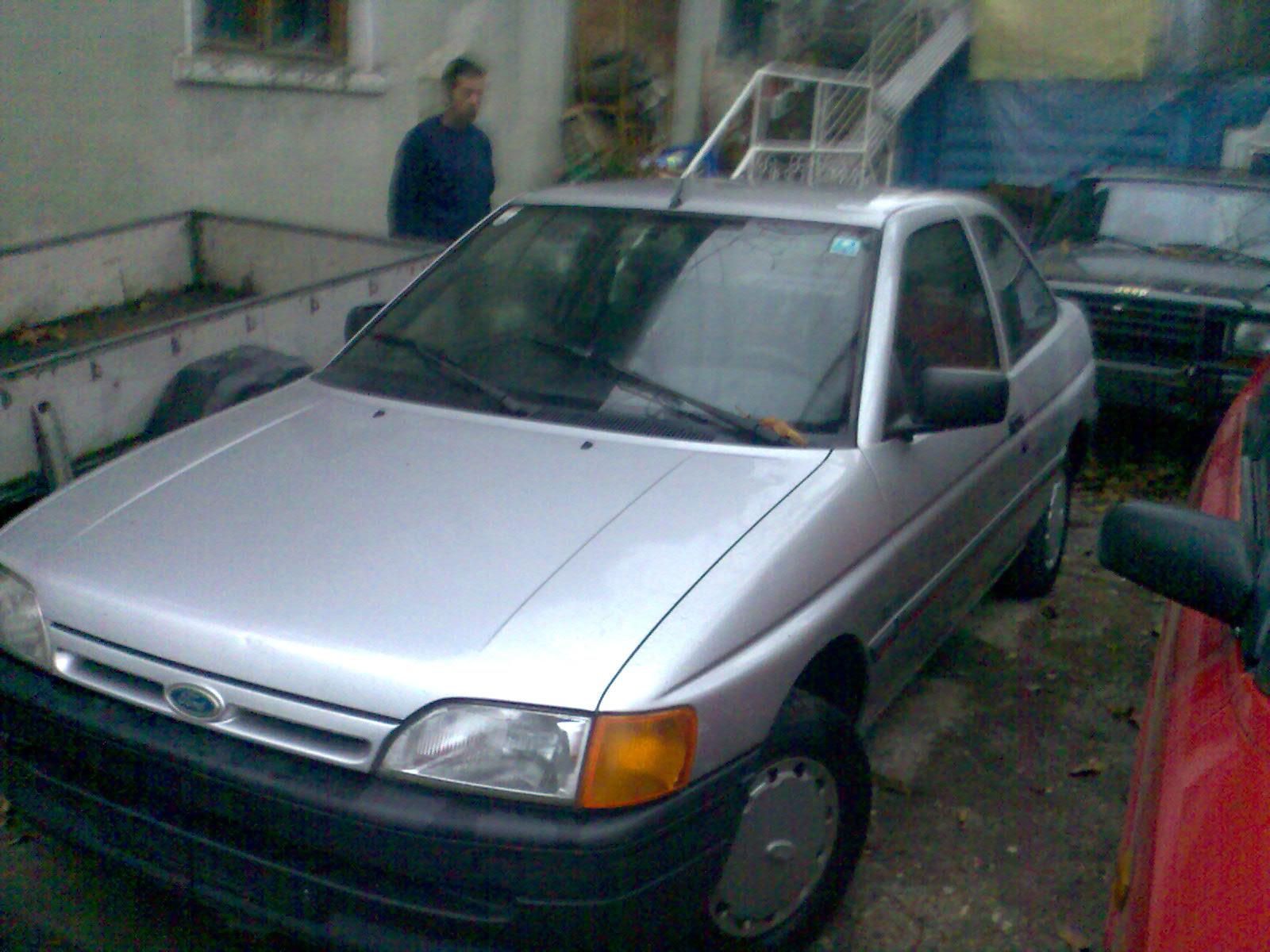 Vind ford escort motor 1,8 diesel an 1992