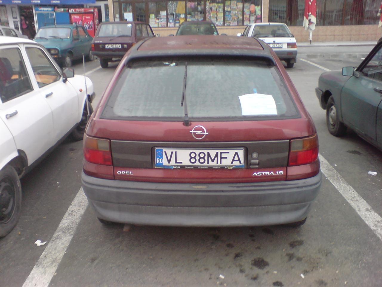 Vand opel astra 1.6i recent inmatriculat din germania an 1995 1.6 benzina itp2011