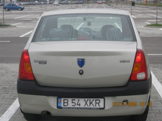 Vand dacia logan diesel full options