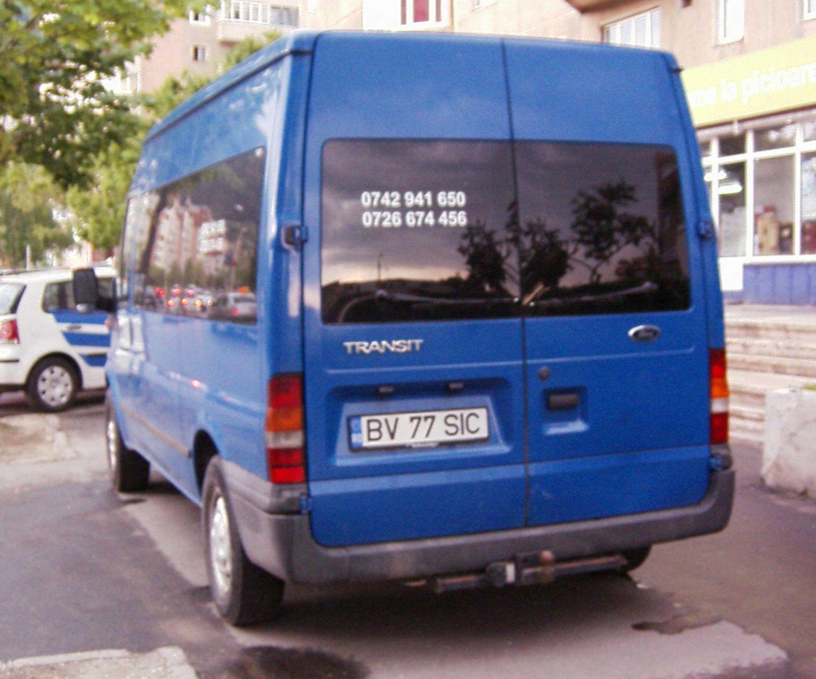 Vand ford transit 2,4 tdi an 2000 itp 2010 euro3