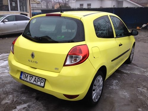 Renault clio iii, inmatriculat in ro