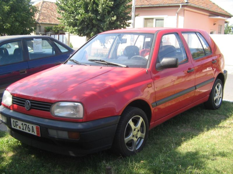 Vindem vw Golf 3 an 1993 euro2