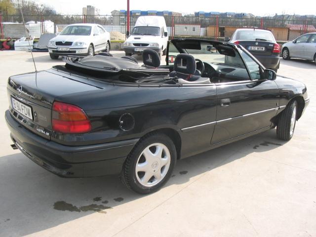 Opel astra cabrio 1600cmc